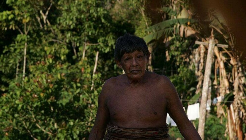 DØD: Det er antatt at Aruká Juma ble mellom 86 og 90 år før han mistet livet, som følge av covid-19 Foto: Odair Leal/Amazônia Real