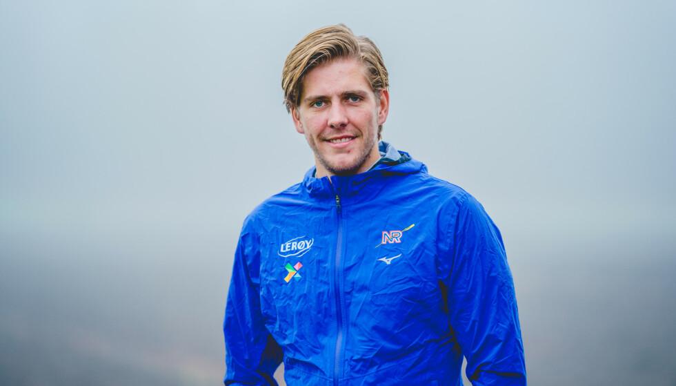 OL: Oscar Stabe Helvig satser mot OL i Tokyo. . Foto: NTB