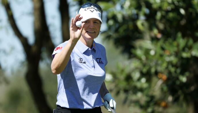 LEGENDE: Sörenstam anses som en av verdens beste kvinnelige golfspillere gjennom historien. Foto: Cliff Hawkins / AFP / NTB
