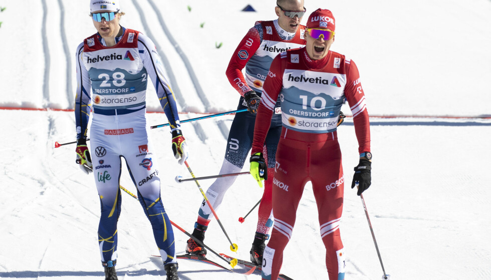 NUMMER FIRE: Aleksandr Bolsjunov - her fra semifinalen. Foto: Bjørn Langsem / Dagbladet