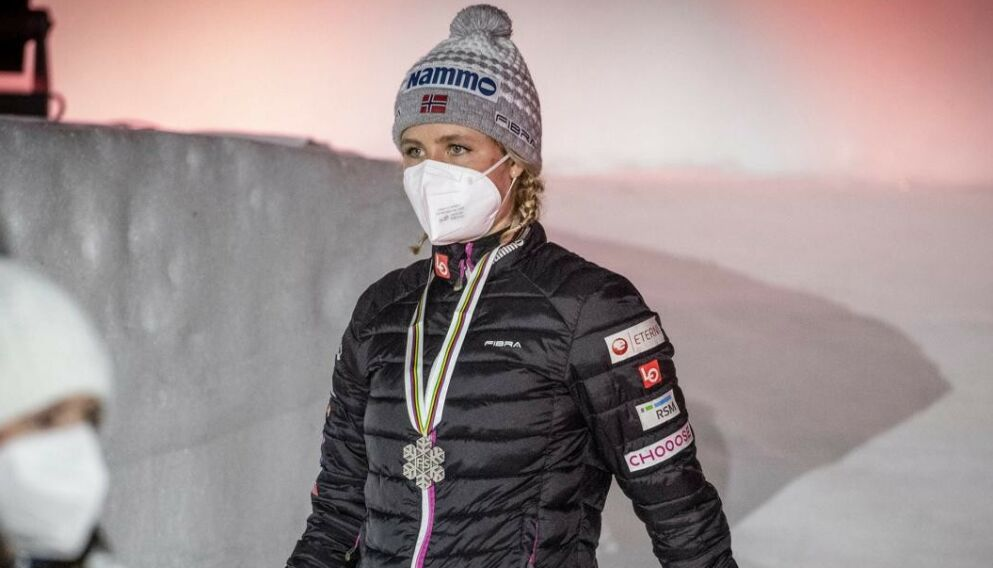VM-SØLV: Maren Lundby. Foto: Bjørn Langsem