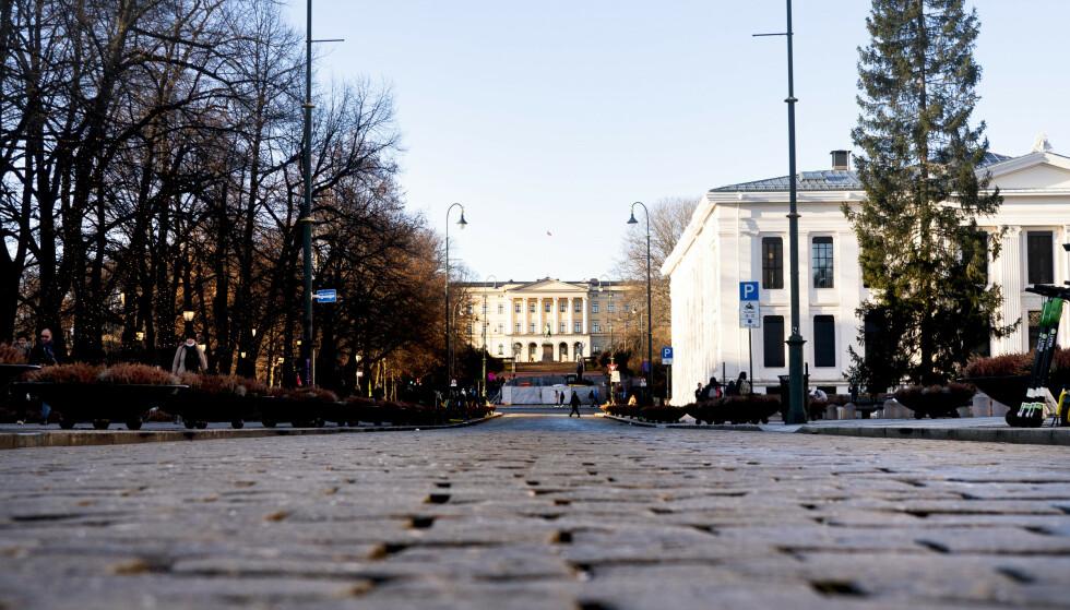CORONAVIRUSET: På landsbasis er det meldt om 551 nye coronasmittede i Norge siste døgn. Her hovedstaden Oslo. Foto: Terje Pedersen/NTB.