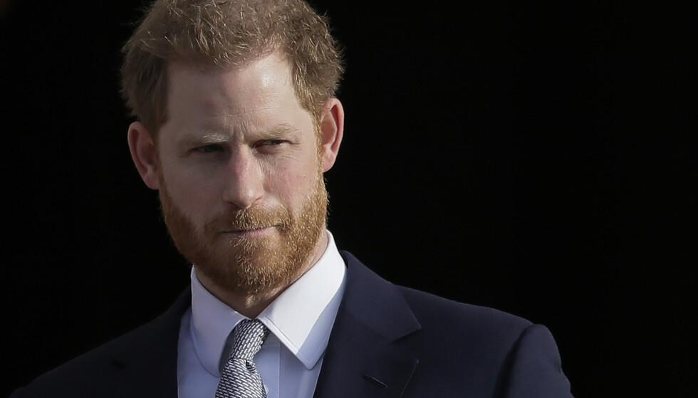 ÅPEN: I et nytt intervju forteller prins Harry at britisk presse har vært både giftig og ødeleggende. Foto: Kirsty Wigglesworth / AP Photo / NTB