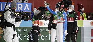 VM-bronse til Norge i laghopp