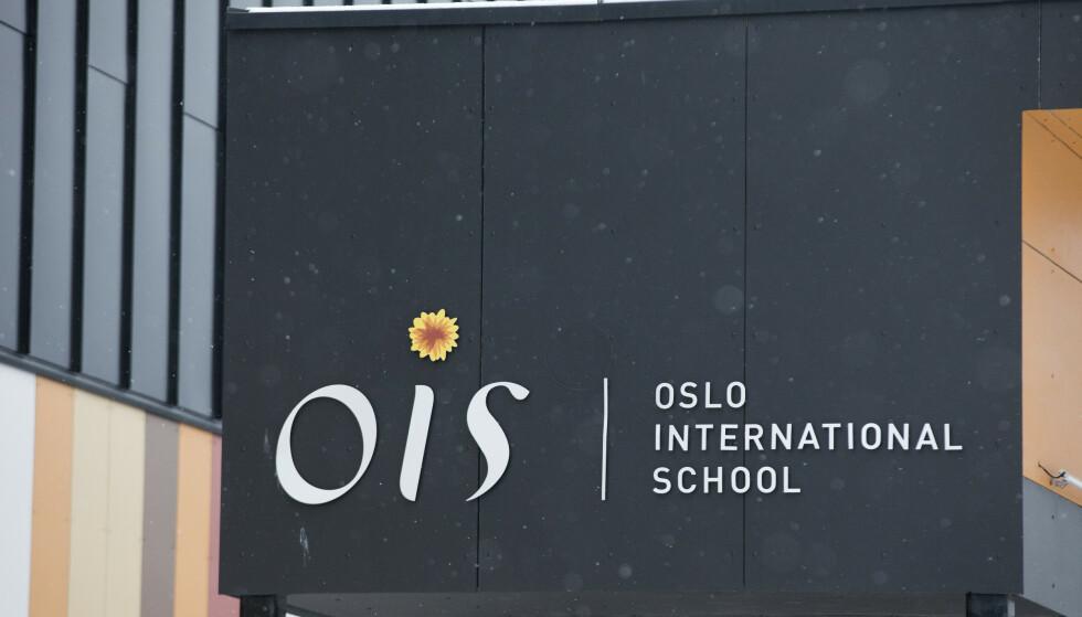 SMITTE: Ved Oslo International School. Foto: Terje Bendiksby / NTB
