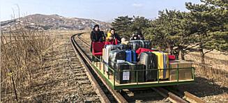 Toget ut av Nord-Korea