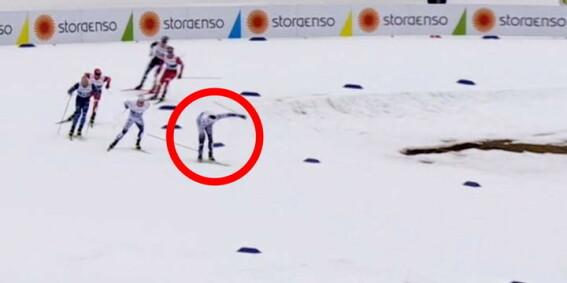 Image: Ski-tabbe: - Fikk panikk!