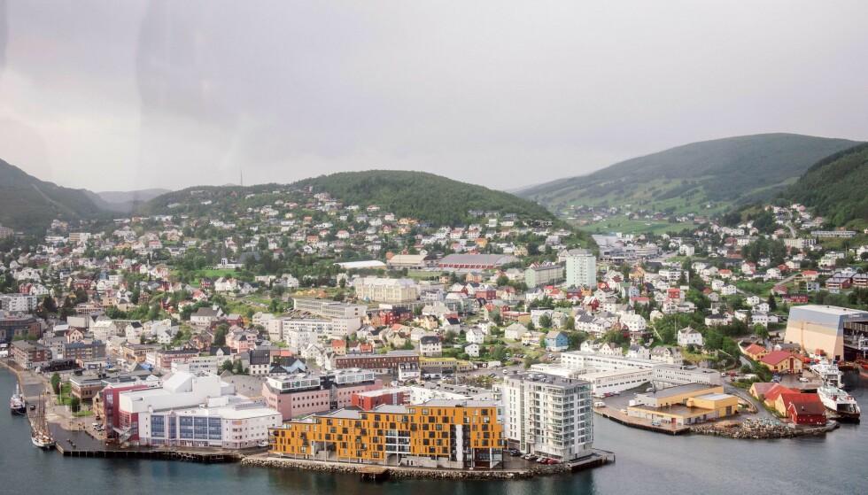 UTBRUDD: Harstad er rammet av et større utbrudd knyttet til et treningssenter. Foto: AFP / Jonathan Nackstrand / NTB