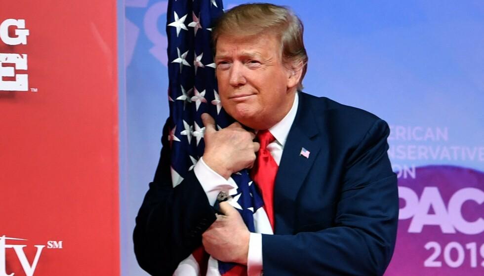 IKKE TOPPLASSERING: USAs forrige president, havner på en 41. plass, i vurderingen av USAs tidligere president. Foto: NICHOLAS KAMM / AFP