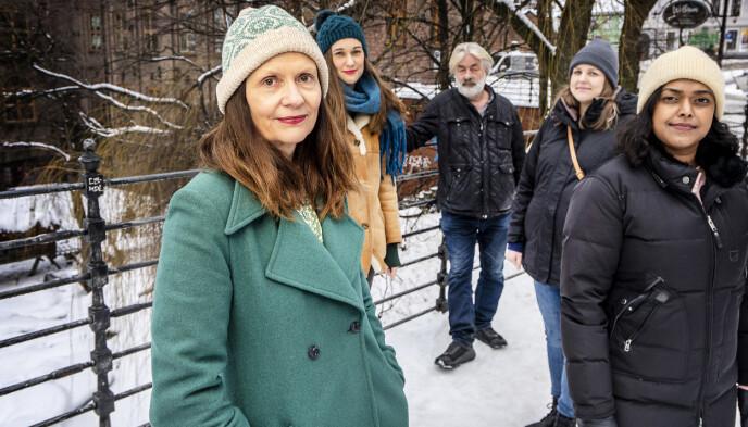 FILM OM UTØYA-GENERASJONEN: Filmskaperne Aslaug Holm (til venstre) og Sigve Endresen har laget filmen om AUF-ungdommer som overlevde terrorangrepet og fortsatte med politikk. Foto: Hans Arne Vedlog/Dagbladet.