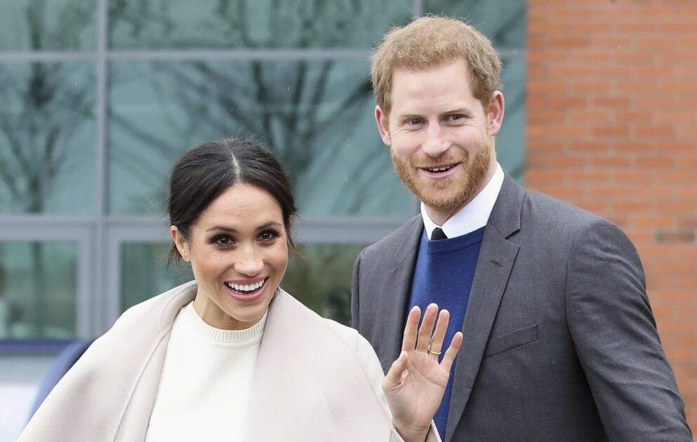 HANS KONGELIGE HØYHET: Prins Harry og hertuginne Meghan får nok en gang oppmerksomhet i media. Denne gang for fødselsattesten til dattera Lilibet. Foto: Pool / Scanpix /NTB