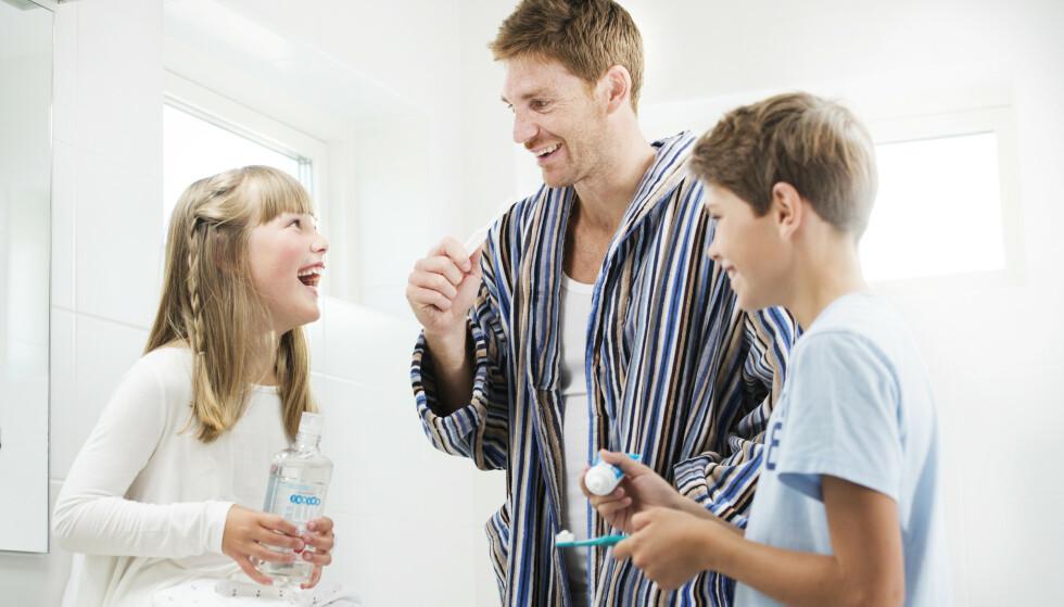 Rett fluorstyrke forebygger karies