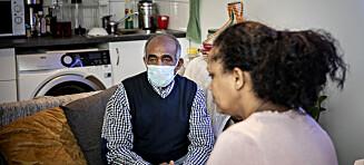 - Pappa (81) trenger corona-vaksine