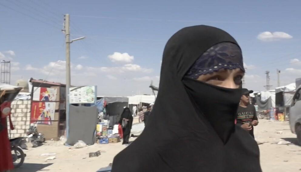 DELTAKER ELLER OFFER?: Den tiltalte 30-åringen fra tida i Al Hol-leiren. Foto: Privat