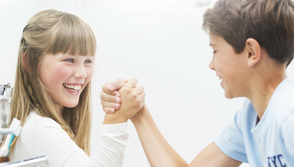 Sterke tenner: Fluor gir sterke tenner. Faktisk tåler tennene ti ganger mer syre med et belegg av fluor.