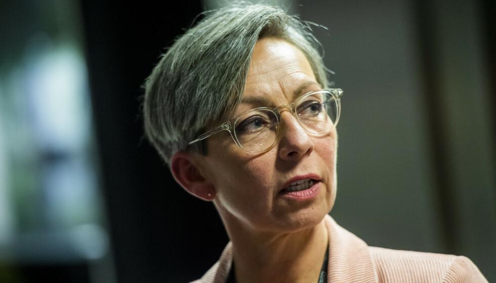 - KRITISK: Moss-ordfører Hanne Tollerud sier at situasjonen for bransjen er kritisk etter strenge tiltak. Foto: Fredrik Varfjell / NTB