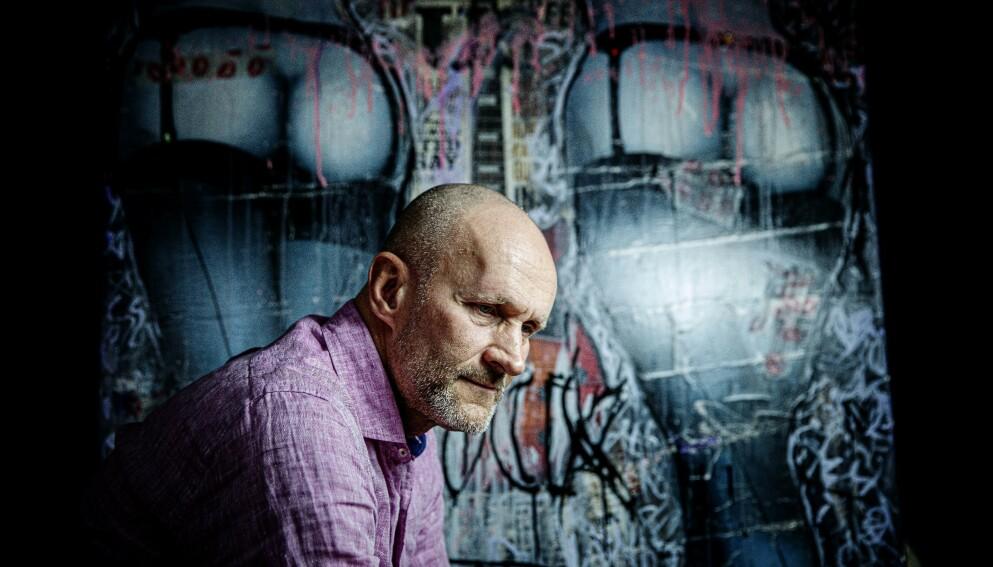 TOPPLEDER: Ingar Jorunnsøn (55) sjonglerte en toppstilling i mediebransjen med tungt alkohol- og pillemisbruk. Foto: Nina Hansen/Dagbladet