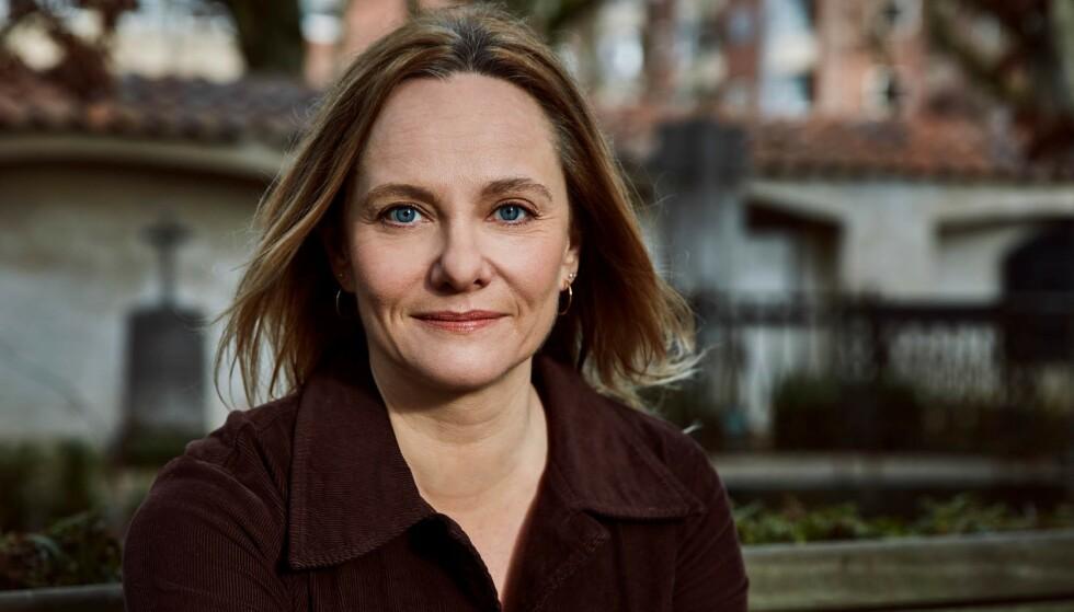 MAREN UTHAUG: Dansk-norsk forfatter med samisk bakgrunn har gjort suksess i Danmark både som tegneserieskaper og romanforfatter. Foto: Thomas Howalt Andersen