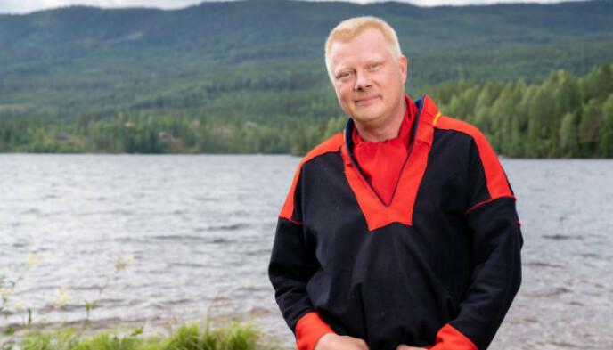 ARRANGERTE FEST: Nils Kvalvik var initiativtaker til festen i Finnmark. Foto: Alex Iversen / TV 2