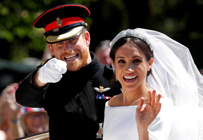 KONGELIG: Både før og etter at Meghan giftet seg inn i den britiske kongefamilien i 2018 har hun fått enorm oppmerksomhet. Foto: Damir Sakolj / Reuters / NTB