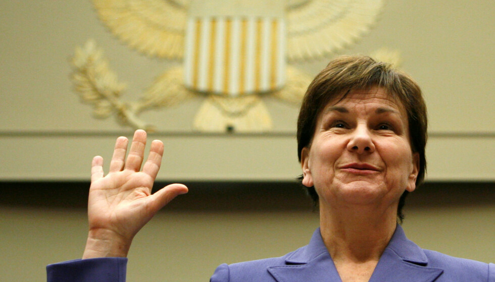 VIL HURTIGGODKJENNE MUTANTVAKSINER: Avdelingsdirektør Janet Woodcock i Det amerikanske legemiddelverket (FDA). Foto: Reuters/NTB