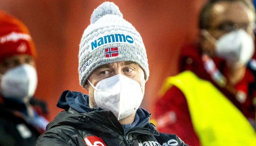 SPORTSSJEF: Clas Brede Bråthen. Foto: Terje Pedersen / NTB