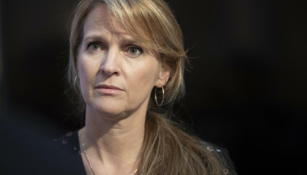 SJEF: Avdelingsdirektør i Folkehelseinstituttet Line Vold. Foto: Berit Roald / NTB