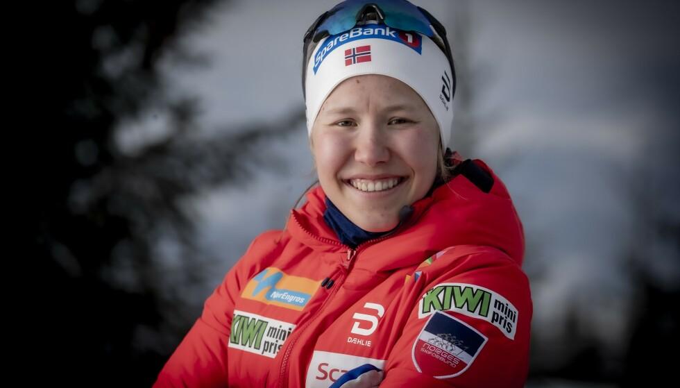 Mulighet som ankerkvinne: Helen Marie Foselholm. Foto: Bjørn Langsem / Dagbladet