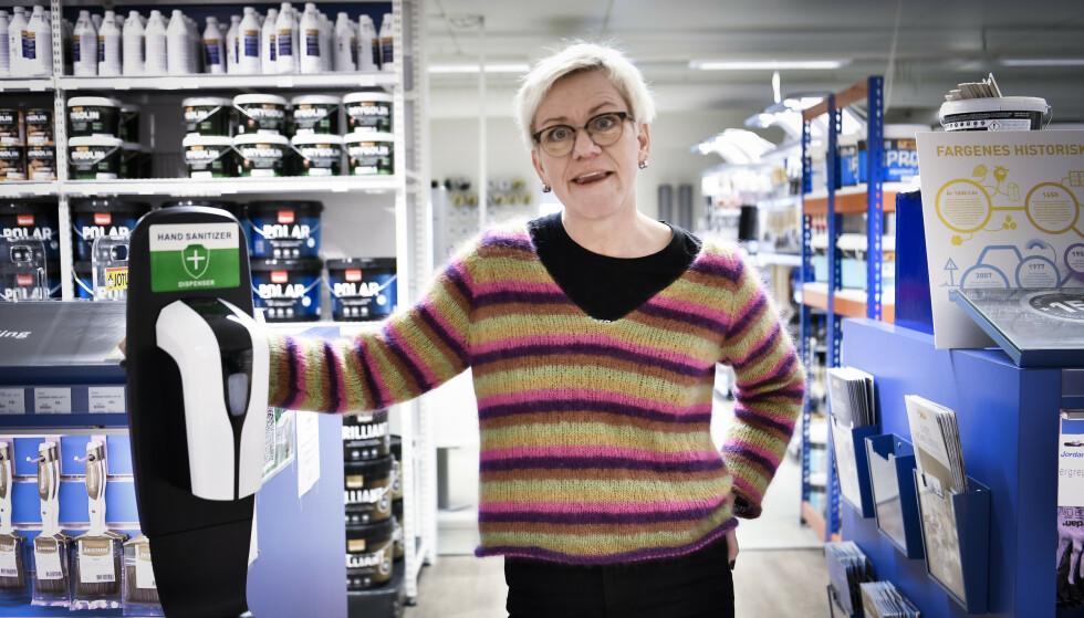 HARDT UT: Sidsel Rykhus (Ap) er tidligere varaordfører i Molde. Hun går hardt ut mot Torgeir Dahl sitt utspill om coronasmitte i Oslo. Foto: Lars Eivind Bones / Dagbladet