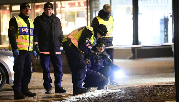 Investigator: Police have cordoned off five areas in Wetland.  Photo: Michael Fritzon / AFP / NDP