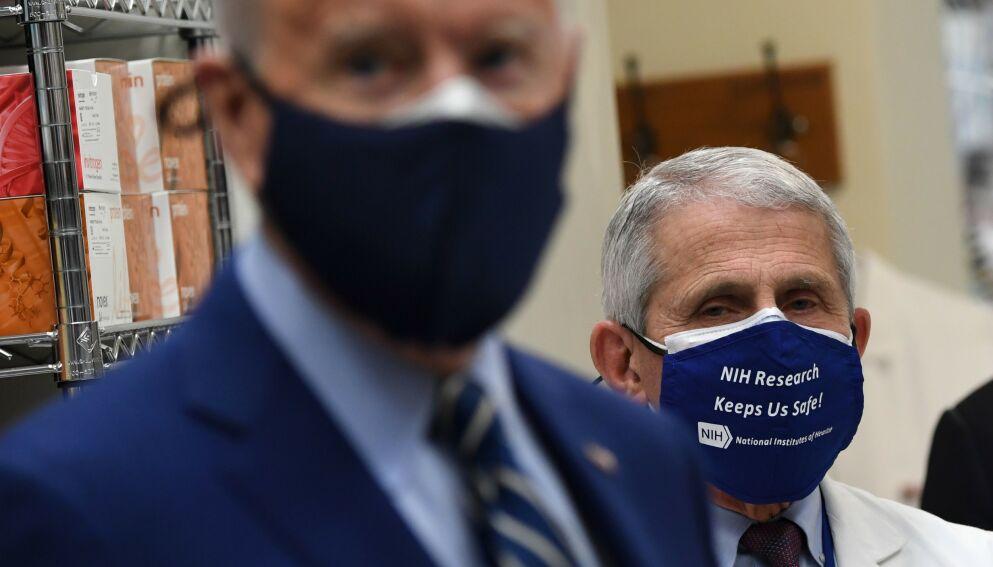 IKKE FORNØYDE: Texas-guvernør Greg Abbotts avgjørelse om å gjenåpne delstaten, trosser advarsler fra Det hvite hus. Foto: Saul Loeb / AFP / NTB