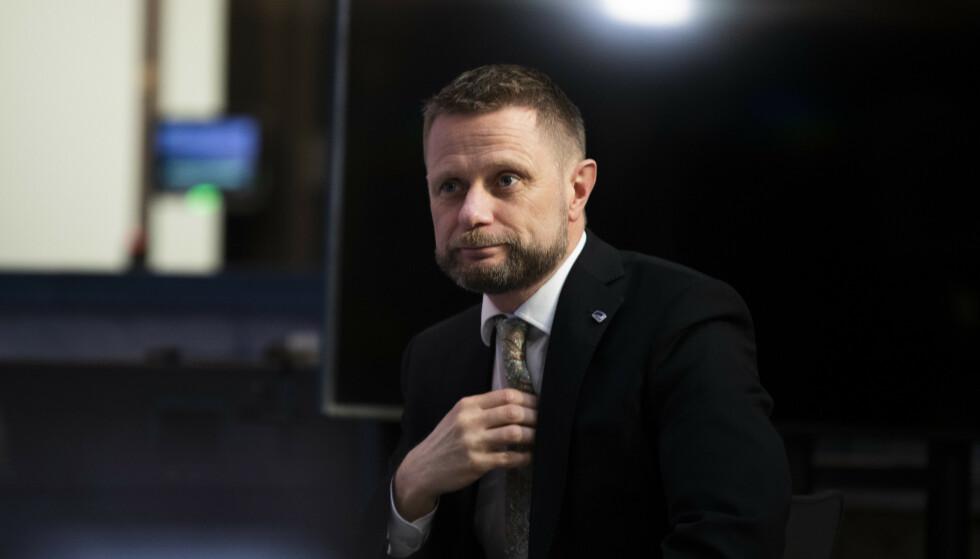 NYE TILTAK: Helse- og omsorgsminister Bent Høie har varslet nye coronatiltak neste uke. Foto: Berit Roald / NTB