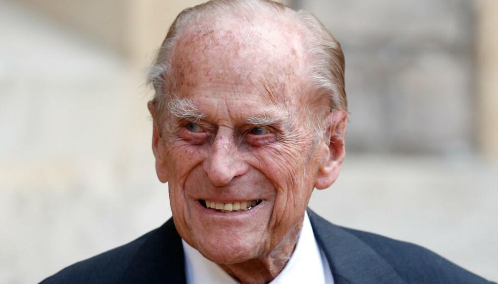 HJERTEOPERASJON: Kongehuset forteller at prins Philip har gjennomgått et vellykket inngrep. Foto: AFP / NTB