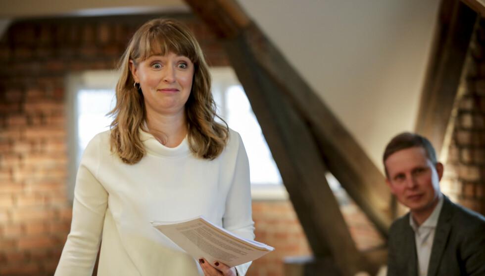 AUDA: Statssekretær Ingelin Noresjø (KrF) droppet møtet med Tønsberg kommune. - En glipp, sier hun til Dagbladet. Foto: Vidar Ruud / NTB
