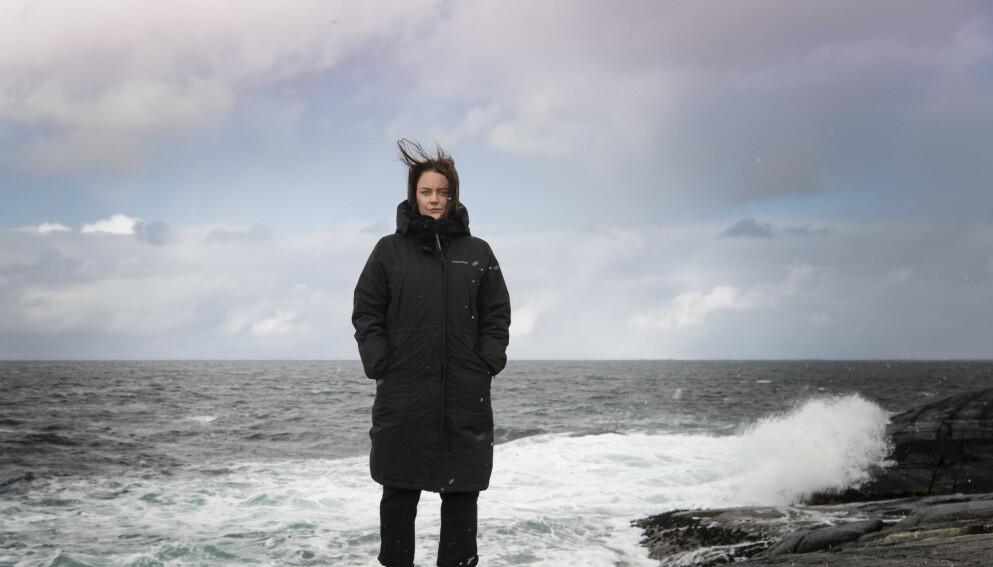 OVERLEVDE: Line Hoem overlevde massakren på Utøya. Hun mener politikken er blitt viktigere etter 22. juli. I filmen «Generasjon Utøya» forteller hun om kampen mot angst og traumer. Foto: Lars Eivind Bones / Dagbladet