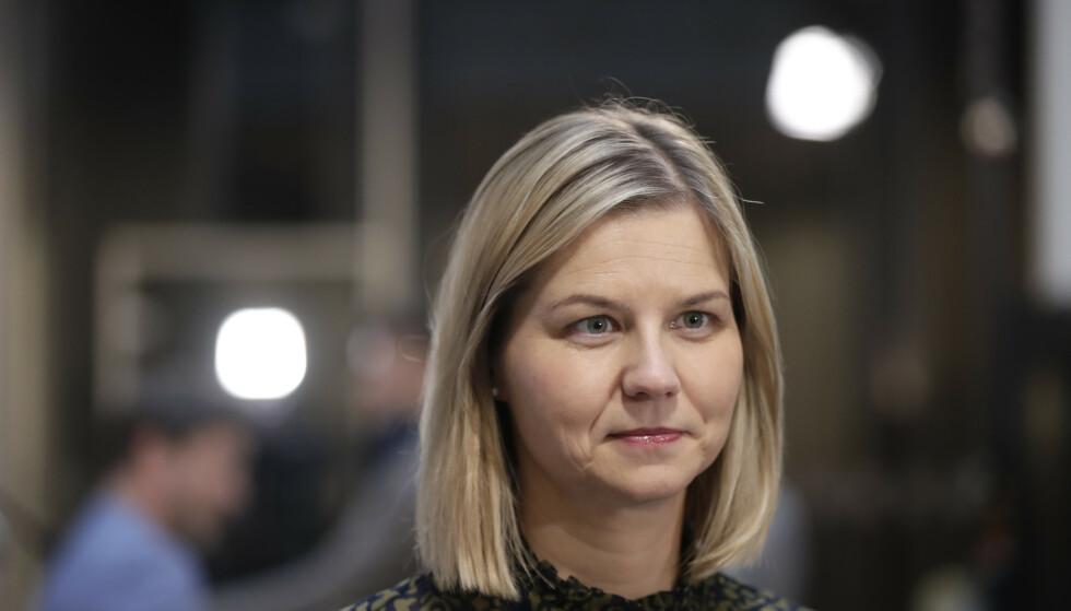 STATSRÅD: Kunnskaps- og integreringsminister Guri Melby (V). Foto: Berit Roald / NTB