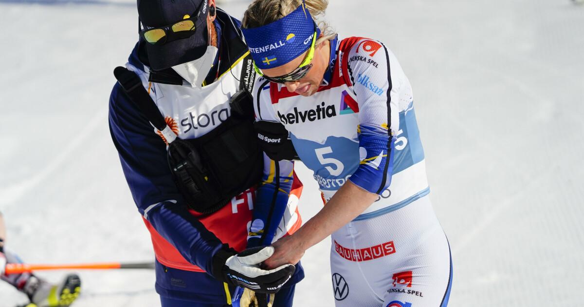 Ski-VM 2021: Frida Karlsson etter det dramatiske fallet: