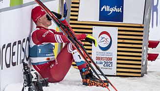 LANGT NEDE: Aleksandr Bolsjunov. Foto: Bjørn Langsem / Dagbladet