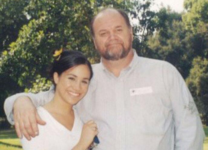Little Connection: la duchessa Meghan e il padre Thomas Markle hanno goduto di una relazione meravigliosa per diversi anni.  Foto: Tim Stewart/Splash/NTP