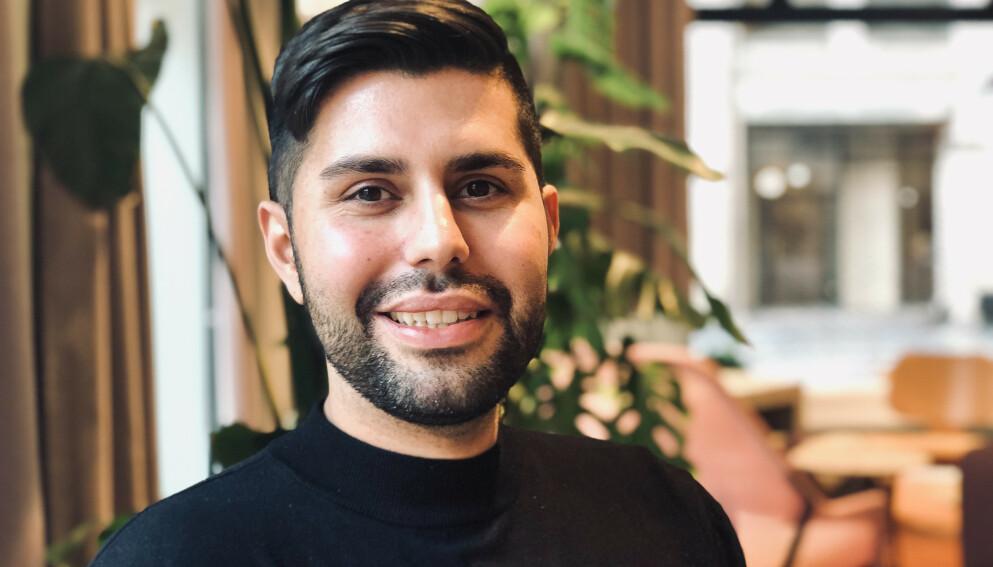 GIR TRYGGHET: Omid Alexander Tabari, markedskoordinator i Dreams. FOTO: Dreams