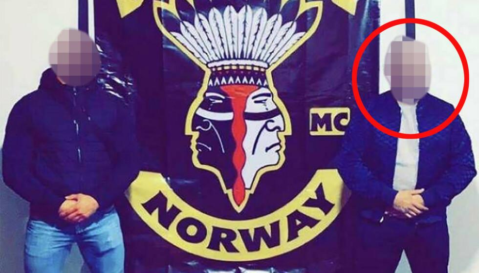 VOLDSTILTALT: Den 36 år gamle mannen har forklart at han er president i Satudarah MC's avdeling i Oslo. Han har ikke lappen på motorsykkel. I retten erkjente han ikke skyld i henhold til tiltalen. Foto: Privat.
