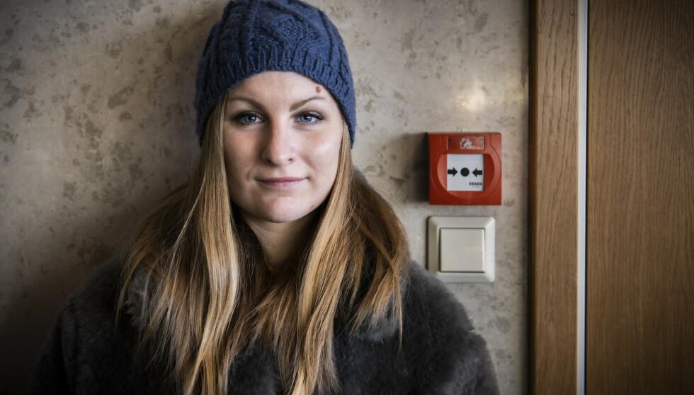 UFRIVILLIG UTE: Kathrine Syse (32) hadde aldri drømt om at det skulle ta såpass lang tid å komme seg tilbake i jobb. - Det var aldri frivillig fra min side å havne utenfor arbeidslivet, sier hun. Foto: Lars Eivind Bones / Dagbladet