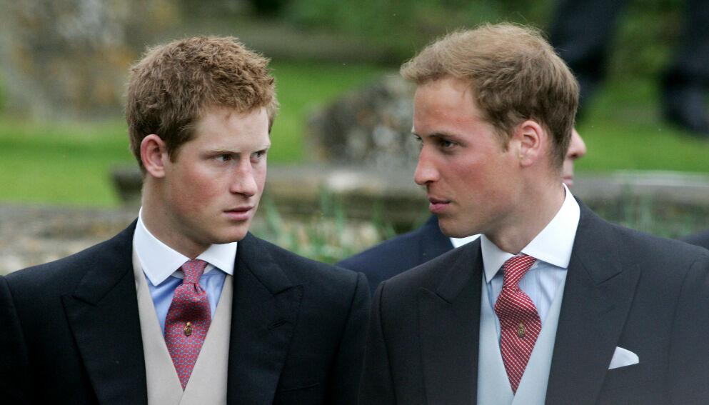 I TYKT OG TYNT: Harry og William har i mange år hatt et nært og godt forhold. Førstnevnte beskrev imidlertid et distansert brødreforhold i intervjuet med Oprah Winfrey. Foto: Carl De Souza / AFP / NTB