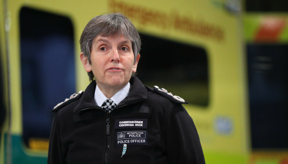 Response: London Police Chief Cressida Dick is shocked to learn that one of her police officers has been arrested and is suspected of murder.  Photo: Jonathan Brady / Pa Photos / NDP