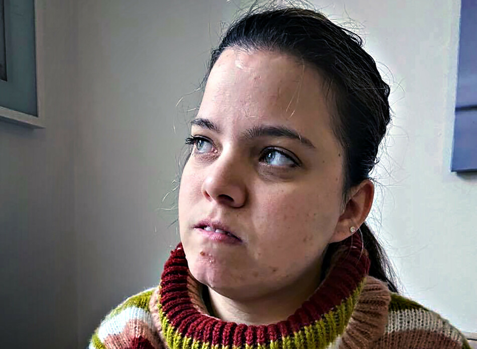 REDD: Tamarin Varner kjenner fortsatt på den vonde opplevelsen hun ble utsatt for på trikken i Oslo. Foto: Privat