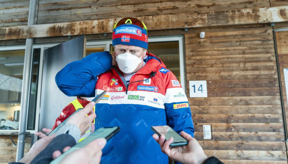 KRITISK: Langrennssjef Espen Bjervig stiller seg spørsmålstegn ved troverdigheten i uttalelsene. Foto: NTB