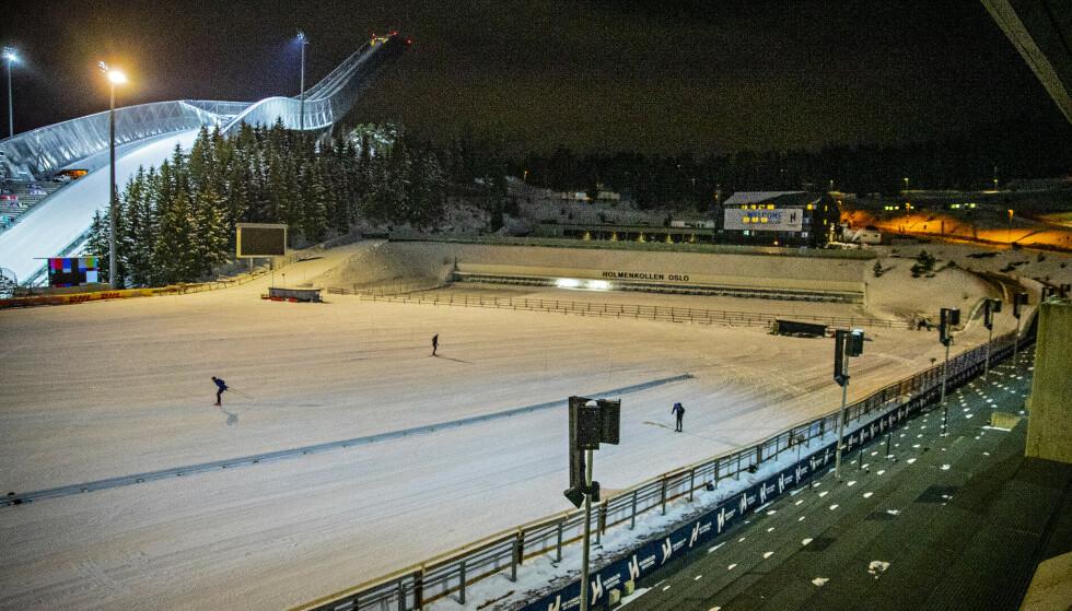 AVLYST: Holmenkollen Skifestival ble avlyst. Foto: Bjørn Langsem/Dagbladet