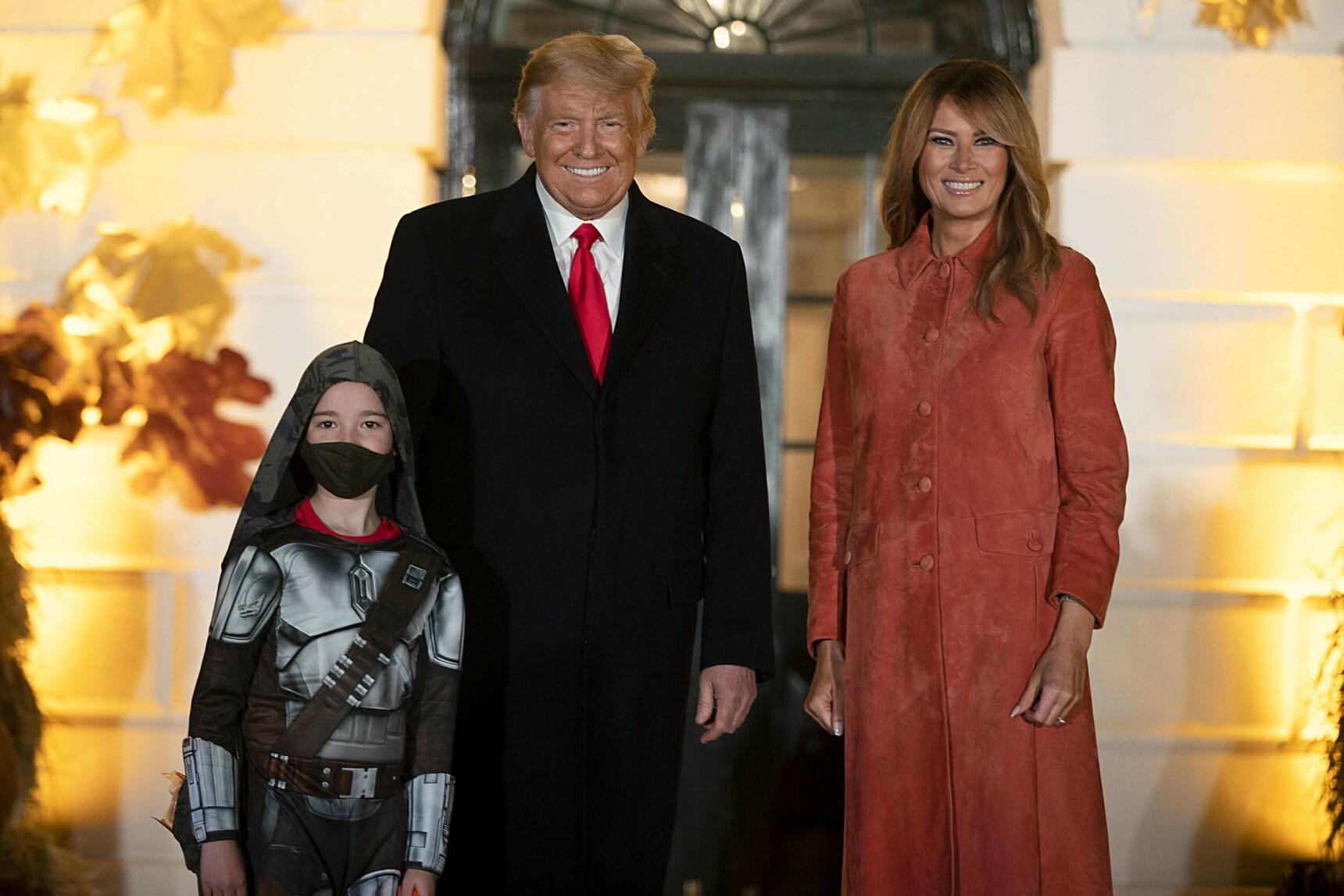 SMITTET: President Donald Trump og Melania ble også smittet av viruset. Foto: AFP/NTB
