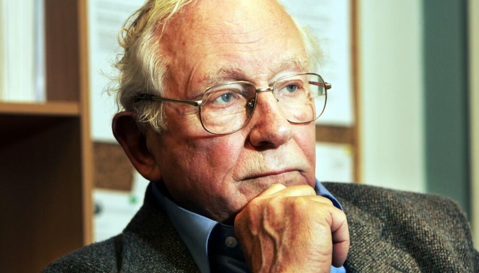 Portrett av Per Kleppe, tatt i 2006. Foto: Terje Bendiksby / NTB