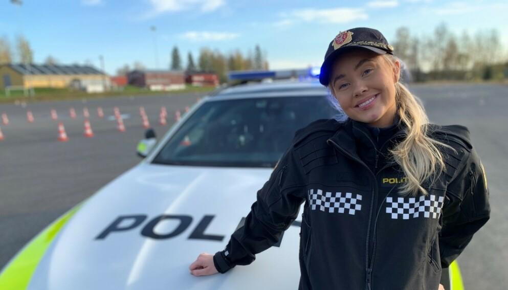 FÅR EGEN SERIE: Martine Lunde er fra slutten av mars aktuell med TV 2 Sumo-programmet Martine vil bli politi». Foto: TV 2
